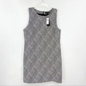 New BANANA REPUBLIC Houndstooth Sleeveless Dress
